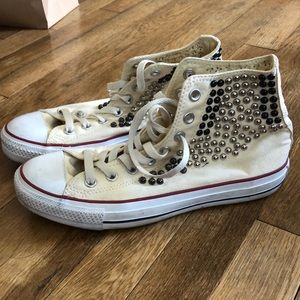 Embellished High Too Converse